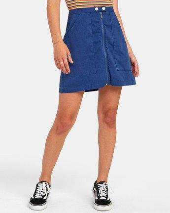 2 Oconnor - Jupe pour Femme Bleu S3SKRBRVP0 RVCA