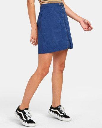 4 Oconnor - Jupe pour Femme Bleu S3SKRBRVP0 RVCA