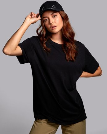 3 Johanna Olk Faces - Graphic T-Shirt for Graphic T-Shirt Black S3SSRCRVP0 RVCA
