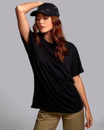 4 Johanna Olk Faces - Graphic T-Shirt for Graphic T-Shirt Black S3SSRCRVP0 RVCA