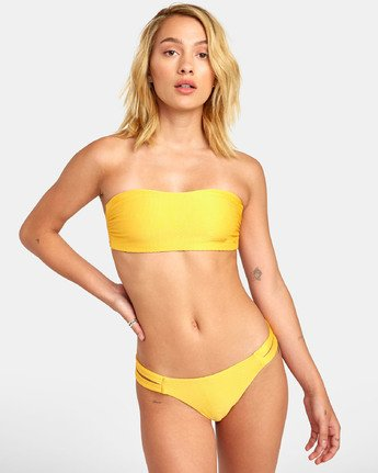 Bodega - Textured Bandeau Bikini Top for Women  S3STRDRVP0