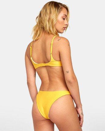 2 Bodega Bralette - Haut de bikini bralette triangle texturé pour Femme  S3STRERVP0 RVCA