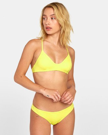 Solid Cross Back - Bikini Top for Women  S3STRLRVP0