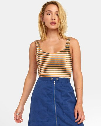 Margot - Striped Tank Top for Women  S3TPRLRVP0