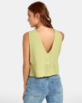 2 Eastern - Peplum Top for Women  S3TPRORVP0 RVCA