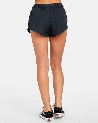 2 Camron - Short en toile à taille élastique pour Femme  S3WKRNRVP0 RVCA