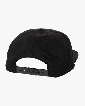 2 SHOYOROLL X BUCHECHA HAT Black S4CPRARVP0 RVCA