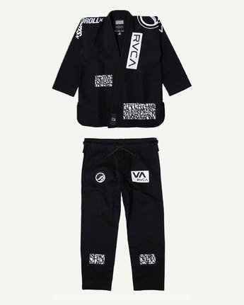 6 RVCA Shoyoroll - Jiu-Jitsu Gi for Men Black S4ESRARVP0 RVCA