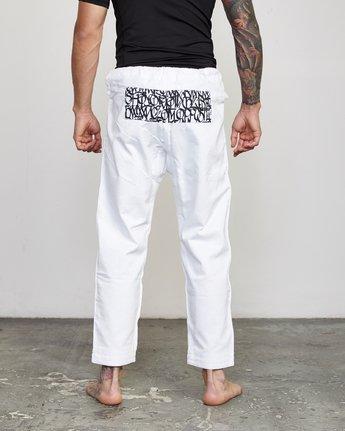 3 RVCA Shoyoroll - Jiu-Jitsu Gi for Men White S4ESRARVP0 RVCA