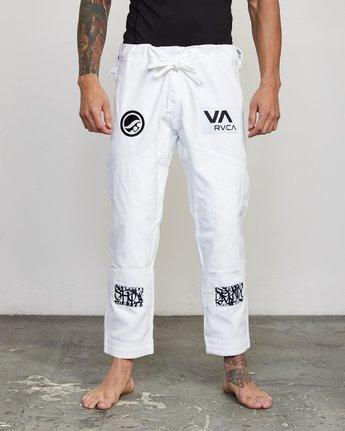 1 RVCA Shoyoroll - Jiu-Jitsu Gi for Men White S4ESRARVP0 RVCA