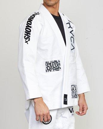 4 RVCA Shoyoroll - Jiu-Jitsu Gi for Men White S4ESRARVP0 RVCA