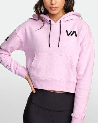 4 Sport  - Hooded Sweatshirt for Women  S4HOWARVP0 RVCA