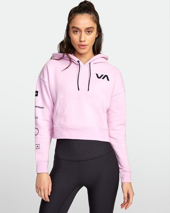 1 Sport  - Hooded Sweatshirt for Women  S4HOWARVP0 RVCA