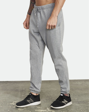 6 Swift Sweat - Pantalon de jogging pour Homme Gris S4PTMCRVP0 RVCA