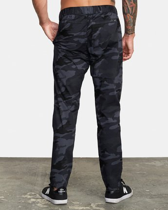 3 Spectrum III - Elasticated Trousers for Men Camo S4PTMDRVP0 RVCA