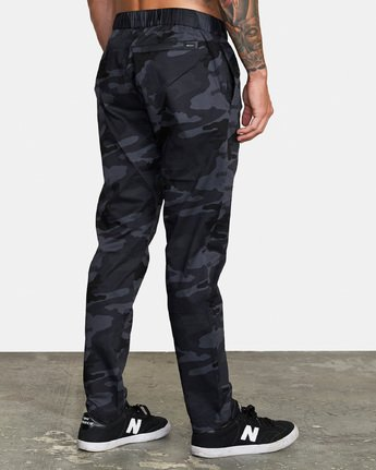4 Spectrum III - Elasticated Trousers for Men Camo S4PTMDRVP0 RVCA