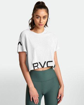 1 VA - Athletic T-Shirt for Women White S4TPWARVP0 RVCA