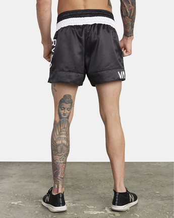 3 RVCA Muay Thai  - Athletic Shorts for Men Black S4WKMCRVP0 RVCA