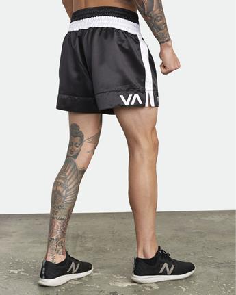8 RVCA Muay Thai  - Athletic Shorts for Men Black S4WKMCRVP0 RVCA