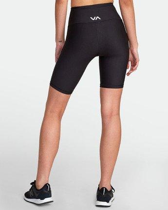 3 VA Di  Ii - Short de sport pour Femme Noir S4WKWARVP0 RVCA