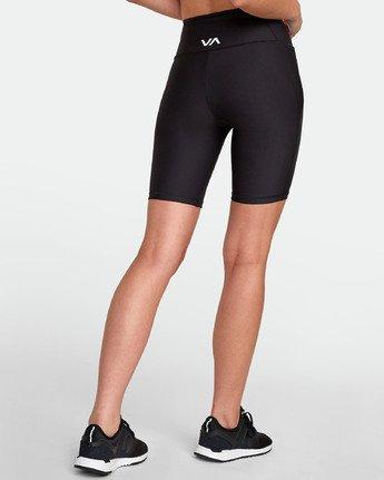 4 VA Di  Ii - Short de sport pour Femme Noir S4WKWARVP0 RVCA