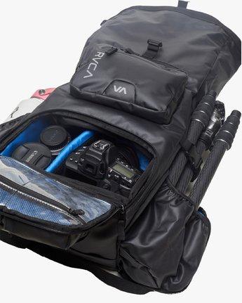 6 Zak N. - Roll Top Camera Backpack for Men Black S5BPRARVP0 RVCA