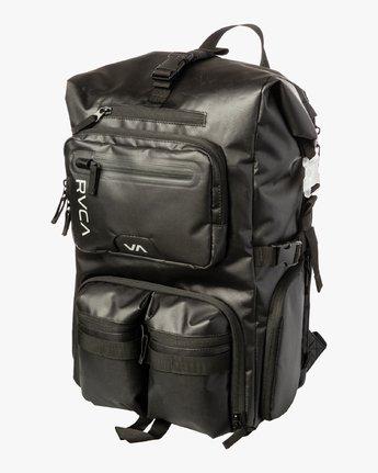 2 Zak N. - Roll Top Camera Backpack for Men Black S5BPRARVP0 RVCA
