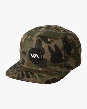 0 VA Patch - Casquette Snapback pour Homme Camo S5CPRPRVP0 RVCA