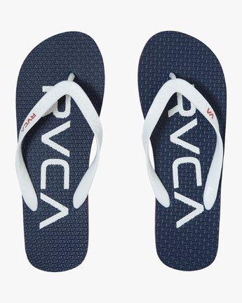 1 Trench Twn - Flip-Flops for Men Blue S5FFRBRVP0 RVCA