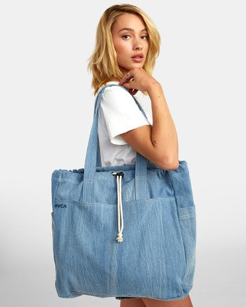 0 Sunfade Tote - Bag for Women Blue S9BGRARVP0 RVCA