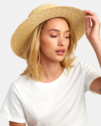 Penny Straw - Wide Brim Straw Hat for Women  S9HTRBRVP0
