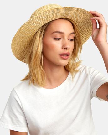 Penny Straw - Wide Brim Straw Hat for Women  S9HTRBRVP0