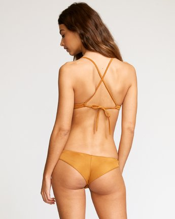 0 Solid Cheeky Bikini Bottoms Brown SJXB01SC RVCA