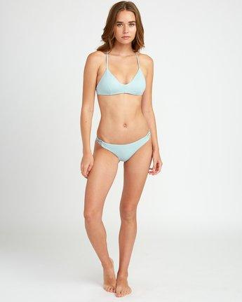 4 Solid Cross Back Bikini Top Beige SJXT01SC RVCA