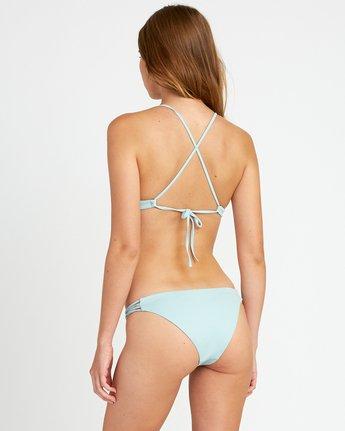 2 Solid Cross Back Bikini Top Beige SJXT01SC RVCA