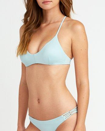 3 Solid Cross Back Bikini Top Beige SJXT01SC RVCA