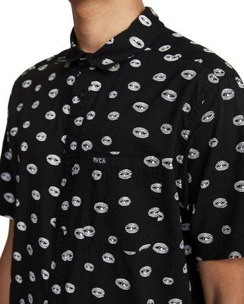 5 Ed Templeton Templeton Eyes - Short Sleeve Shirt for Men Black T1SHRARVS0 RVCA