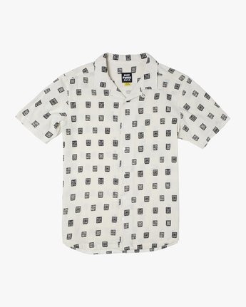 Hot Fudge Papel Picado - Short Sleeve Shirt for Men  T1SHRCRVS0