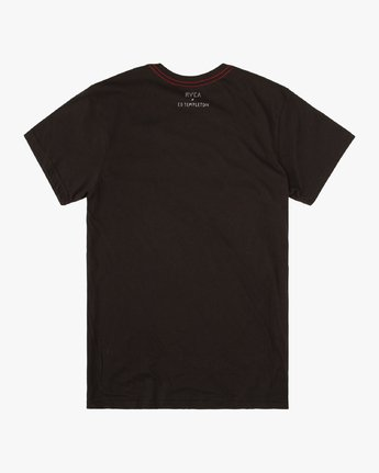 1 Ed Templeton Deanna - T-Shirt for Men Black T1SSRGRVS0 RVCA