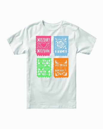 Hot Fudge Paper Picado - T-Shirt for Men  T1SSRJRVS0