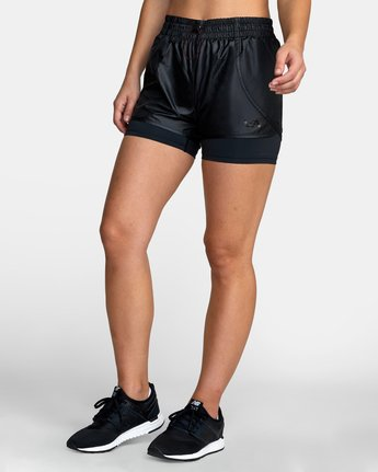 2 2 IN 1 SHORT Black T2011RTS RVCA