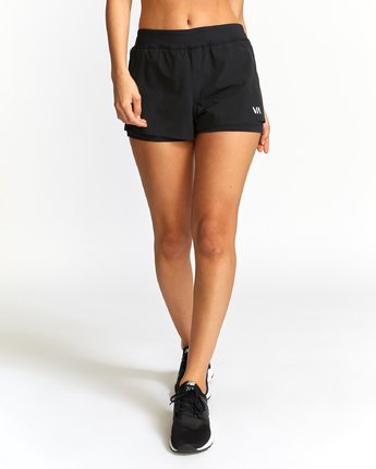 1 Eclipse Sport Short Black T201VREC RVCA
