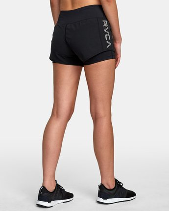 5 Eclipse Sport Short Black T201VREC RVCA