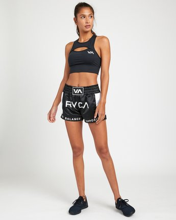 2 RVCA MUAY THAI SHORT Black T2021RBS RVCA