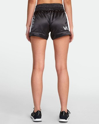 9 RVCA MUAY THAI SHORT Black T2021RBS RVCA