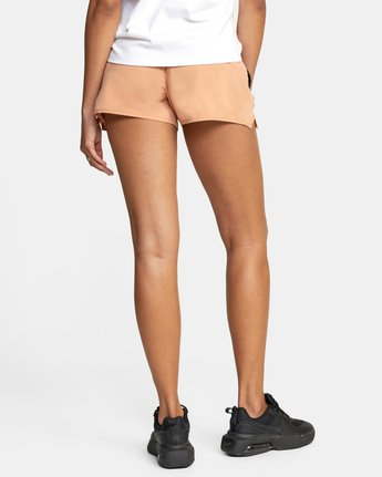 1 Womens Yogger Stretch Short Brown T202TRYS RVCA