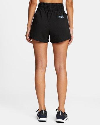 1 EVERLAST FLEECE SWEAT SHORT Black T2033RES RVCA