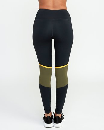 4 VA Levels Legging Green T301TRLE RVCA