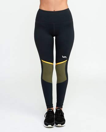 1 VA Levels Legging Green T301TRLE RVCA
