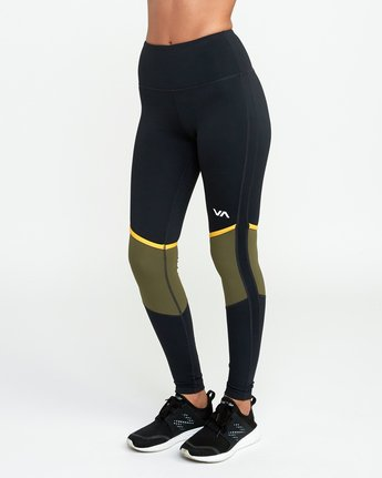 2 VA Levels Legging Green T301TRLE RVCA
